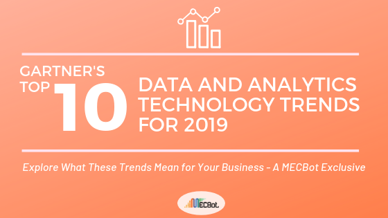 Gartner's Top 10 Data and Analytics Technology Trends for