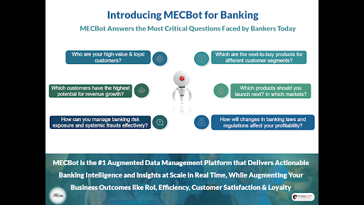 MECBot Analyzes, Annotates & Unifies Banking Data into Smart Data Fabric